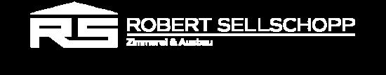 Logo Bauservice Robert Sellschopp quer weiss